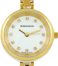 Керамические наручные часы Romanson RM7A21LLG(WH)