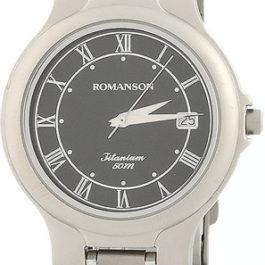 Титановые наручные часы Romanson TM8697MW(BK)