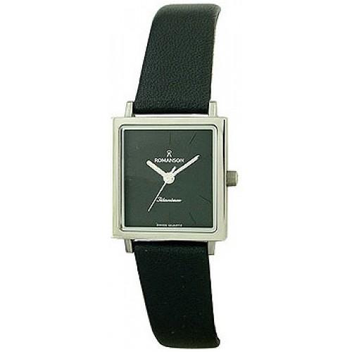 Часы Romanson DL 2133S LW(BK)