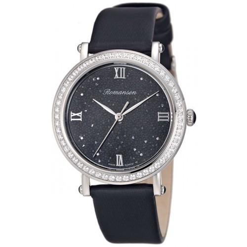 Часы Romanson RL 6A27Q LW(BK)
