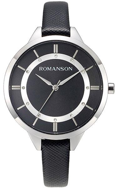 Часы Romanson RL 8A28L LW(BK)