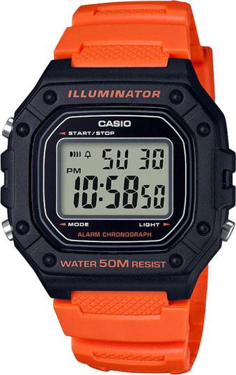 Часы Casio W-218H-4B2