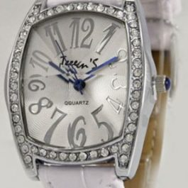 Часы ТИК-ТАК Н724 Белый рем/белый циф