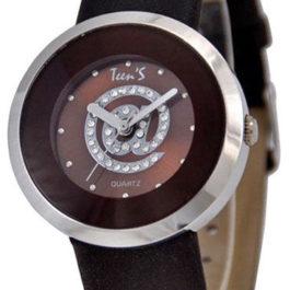 Часы ТИК-ТАК Н719 Коричн/серебр корп
