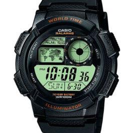 Наручные часы Casio Collection AE-1000W-1A с хронографом