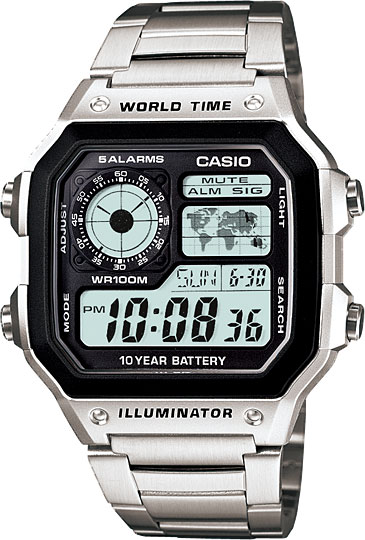 Наручные часы Casio Collection AE-1200WHD-1A