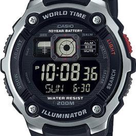 Наручные часы Casio Collection AE-2000W-1B с хронографом
