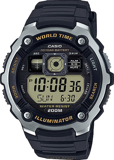 Collection AE-2000W-9A с хронографом