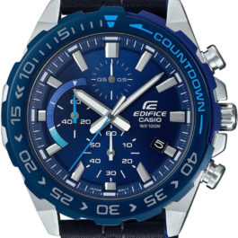 Наручные часы Casio Edifice EFR-566BL-2AVUEF с хронографом