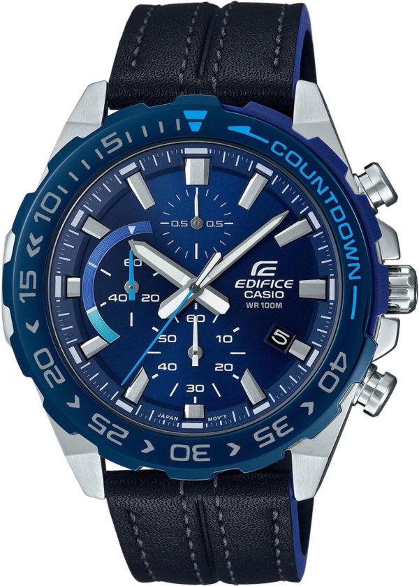 Наручные часы Casio Edifice EFR-566BL-2AVUEF с хронографом