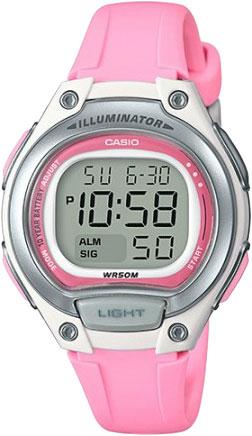 Наручные часы Casio Collection LW-203-4A с хронографом