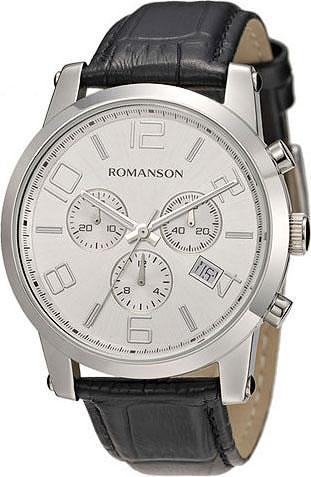 Наручные часы Romanson TL0334HMW(WH) с хронографом