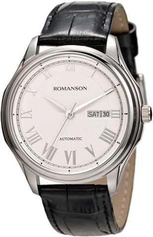Механические наручные часы Romanson TL3222RMW(WH)BK