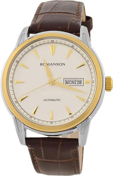 Механические наручные часы Romanson TL3223RMC(WH)BN