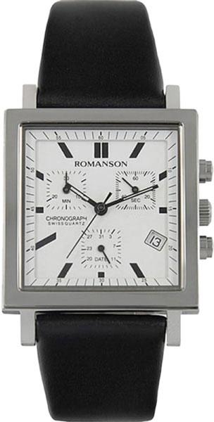 Наручные часы Romanson UL2118SMW(WH) с хронографом