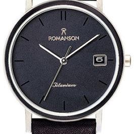 Титановые наручные часы Romanson DL9782SMW(BK)