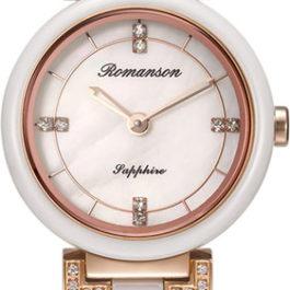 Керамические наручные часы Romanson RM8A10QLR(WH)