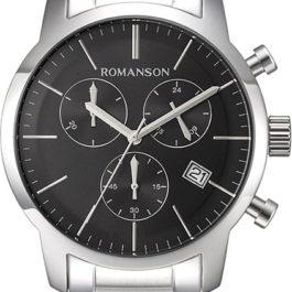 Наручные часы Romanson TM8A19HMW(BK) с хронографом