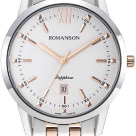 НАРУЧНЫЕ ЧАСЫ ROMANSON MENS COLLECTION TM 7A20M MJ(WH)