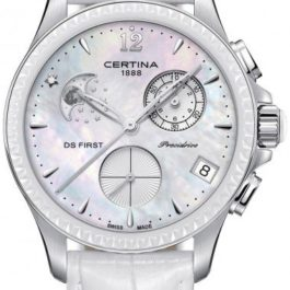 8916 certina ds first lady chronograph