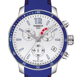 Часы мужские  Tissot Quickster Chronograph Football T095.449.17.037.00